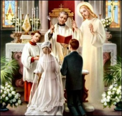 Matrimonio Catolico Que Significa : Rainha maria