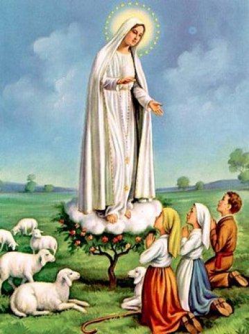 Dia 13 de Maio: Nossa Senhora de Fátima