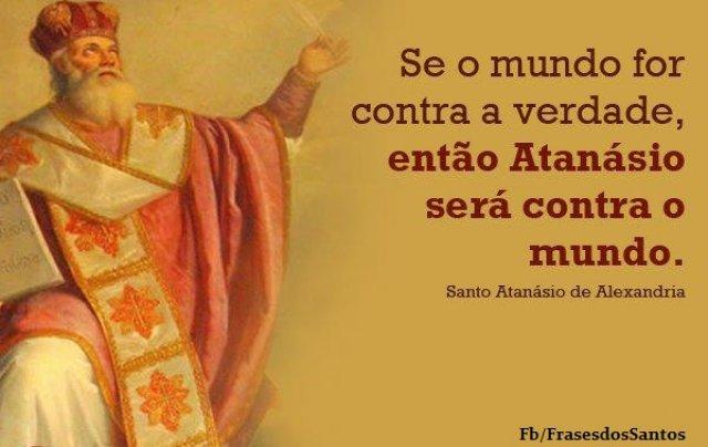 Resultado de imagem para santo atanásio