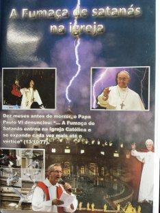 Combata a Apostasia - Adquira o DVD: A Fumaça de Satanás na Igreja